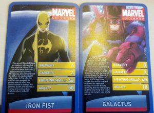 Iron Fist and Galactus